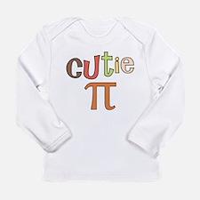 Cutie Pi Long Sleeve Infant T-Shirt