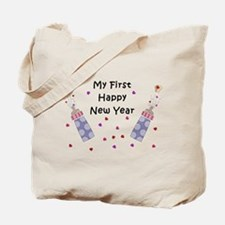 Baby's First New Year Tote Bag