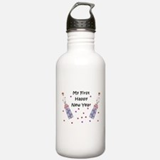 Baby's First New Year Water Bottle