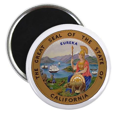 "Seal of California 2.25"" Magnet (10 pack)"