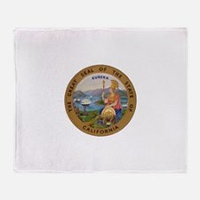 Seal of California Throw Blanket