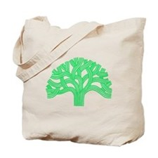 Oakland Tree Lim Green Tote Bag