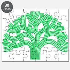 Oakland Tree Lim Green Puzzle
