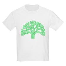 Oakland Tree Lim Green T-Shirt
