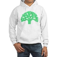 Oakland Tree Lim Green Hoodie