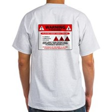 Pyromaniac Warning T-Shirt