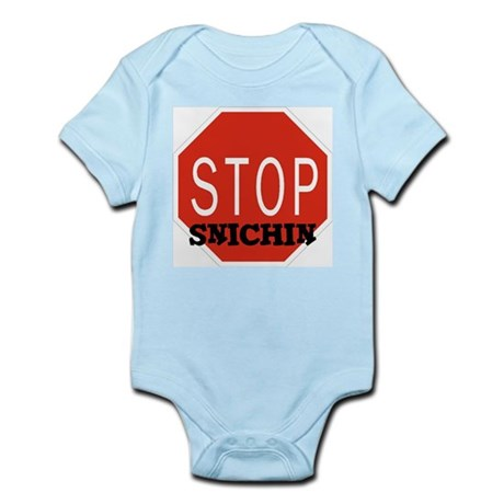 Stop Snitchin Infant Creeper