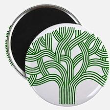 Oakland Tree Green Magnet
