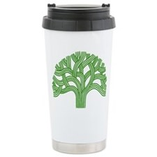 Oakland Tree Green Thermos Mug