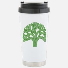 Oakland Tree Green Travel Mug
