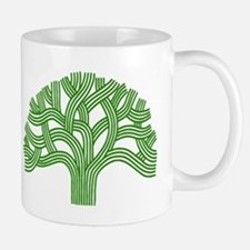 Oakland Tree Green Mug