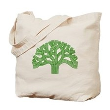 Oakland Tree Green Tote Bag