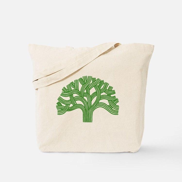 Oakland Tree Green Tote Bag