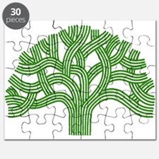 Oakland Tree Green Puzzle