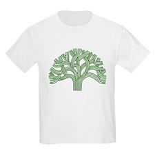 Oakland Tree Green T-Shirt