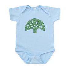 Oakland Tree Green Infant Bodysuit