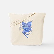 Blue Christmas Tote Bag
