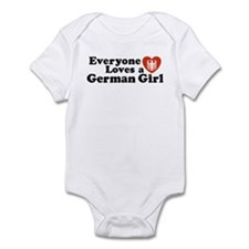 Everyone Loves a German Girl Infant Creeper