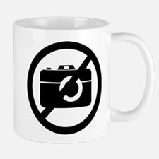 No Photos Please ! Mug