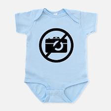 No Photos Please ! Infant Bodysuit