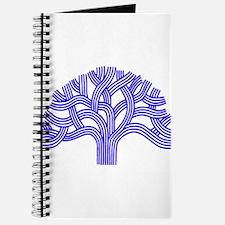 Oakland Tree Blue Journal