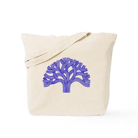 Oakland Tree Blue Tote Bag