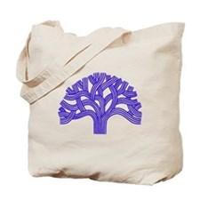 Oakland Tree Blue Tote Bag