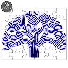 Oakland Tree Blue Puzzle