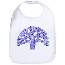 Oakland Tree Blue Bib
