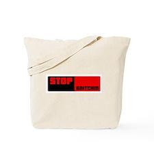 Stop Snitchin 12 Tote Bag