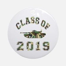 Class Of 2019 Military School Ornament (Round)