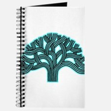 Oakland Tree Hazed Teal Journal