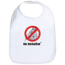 No Snitchin Bib