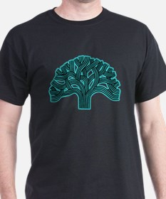 Oakland Tree Hazed Teal T-Shirt