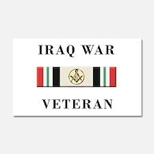 Masons In Iraq Car Magnet 20 x 12