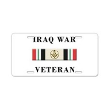 Masons In Iraq Aluminum License Plate