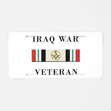 Masons In Iraq Aluminum License Plate