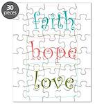 Faith Hope Love Puzzle