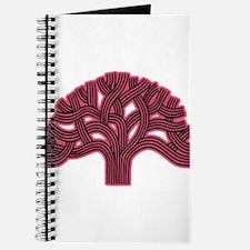 Oakland Tree Hazed Red Journal