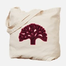 Oakland Tree Hazed Red Tote Bag