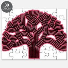 Oakland Tree Hazed Red Puzzle
