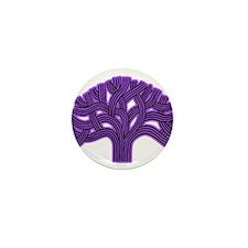 Oakland Tree Purple Haze Mini Button