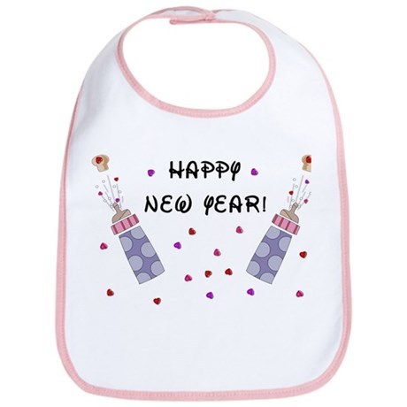 Baby New Year Party Bib