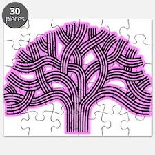 Oakland Tree Pink Haze Puzzle