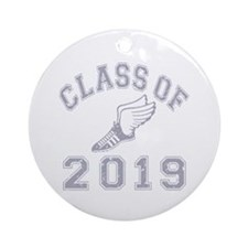 Class Of 2019 Track & Field Ornament (Round)