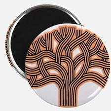 Oakland Tree Hazed Orange Magnet