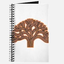 Oakland Tree Hazed Orange Journal