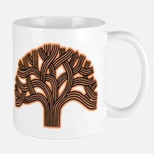 Oakland Tree Hazed Orange Mug