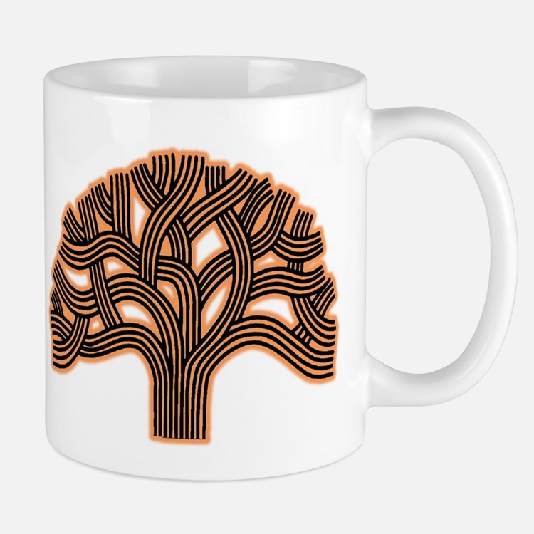 Oakland Tree Hazed Orange Mug