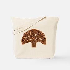 Oakland Tree Hazed Orange Tote Bag